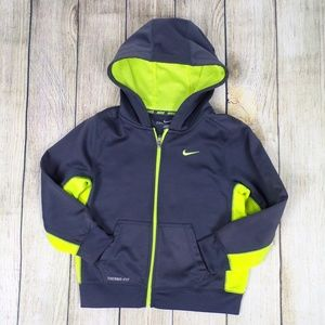 Nike Therma-Fit Zip-up Hoodie Size 7 Boys